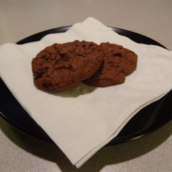Puffy Chocolaty Chip Cookies