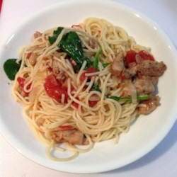 Spaghettini Chicken