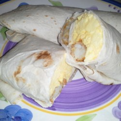 Tator Tot Breakfast Burrito