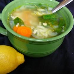 Lemon Chicken Orzo Soup ~ Recipe Group Selection:  19, October 2013