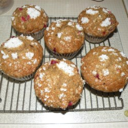 Cranberry Applesauce Muffins Recipe