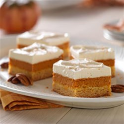 Photo of Maple-Pumpkin Pie Bars by JELL-O