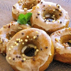 Maple Pumpkin Doughnuts Recipe