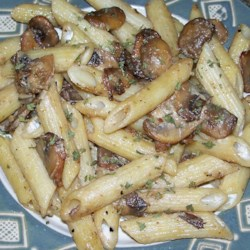 Penne with Sausage and Portobello Mushrooms Recipe