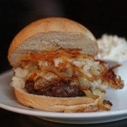 Irish Potato Burger