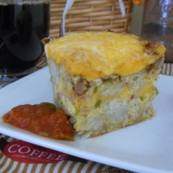 Potato and Cheese Breakfast Casserole Recipe