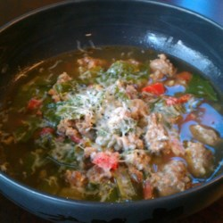 Tuscan Sausage and Chard Soup Recipe
