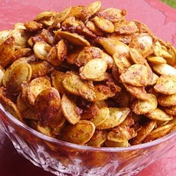 Baked Pumpkin Seeds Recipe