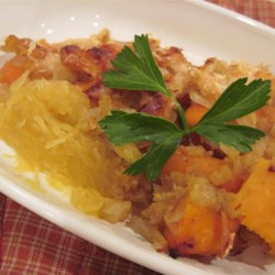 Roasted Vegetables with Spaghetti Squash Recipe