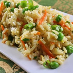 Confetti Rice with Carrot, Celery, and Almonds Recipe