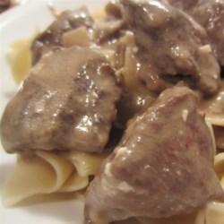 Beef Stroganoff I Recipe