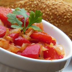 Algerian Flafla (Bell Pepper Salad) Recipe