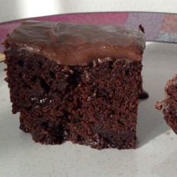 Rum Raisin Brownies