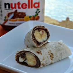 Nutella(R) Roll Up Recipe