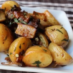 Roasted Wild Mushrooms and Potatoes Recipe