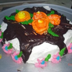 Tarred Roof Cake Recipe