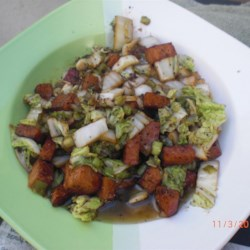 Spam(TM) and Napa Cabbage Recipe