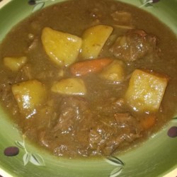 Mom's Hearty Beef Stew with Dumplings Recipe