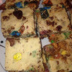 Leftover Halloween Candy Brownies! Recipe