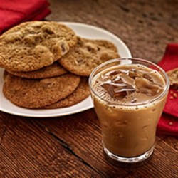 Kahlua Cookies with Chocolate Chunks
