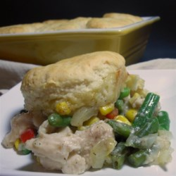 Easy A La King Biscuit Casserole Recipe