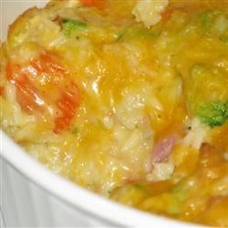 Ham and Rice Bake