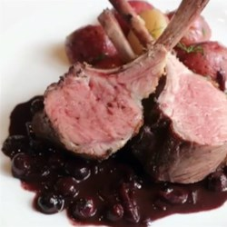 Rack of Lamb with Blueberry Sauce Recipe