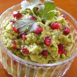 Pomegranate Guacamole |