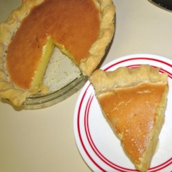 Meyer Lemon Pie Recipe
