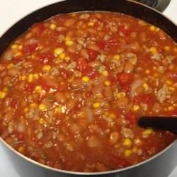 Taco Soup V Recipe