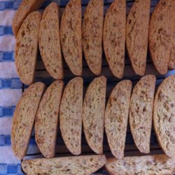 Crunchy Almond Biscotti Recipe