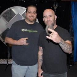 Scott Ian and I