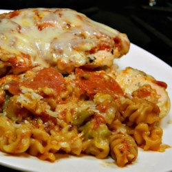 Pizza Chicken Bake Recipe