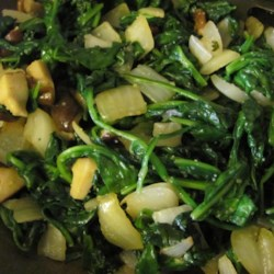 Cameroonian Fried Spinach Recipe