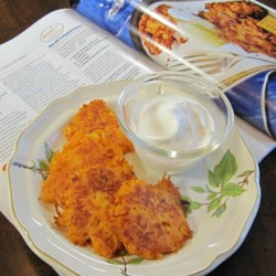 Kerry's Sweet Potato Latkes
