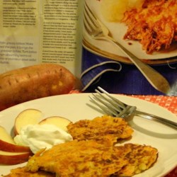 Kerry's Sweet Potato Latkes Recipe