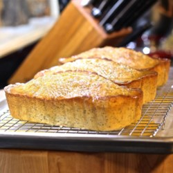 Orange-Almond Poppy Seed Bread Recipe