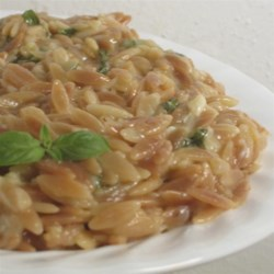 Orzo w/ Parmesan and Basil
