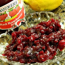 Easy Cranberry Raspberry Sauce Recipe
