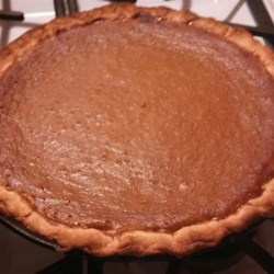 Fresh Sugar Pumpkin Pie