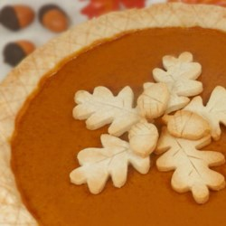 Homemade Fresh Pumpkin Pie Recipe