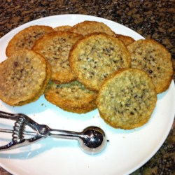 Lacy Oatmeal Cookies Recipe
