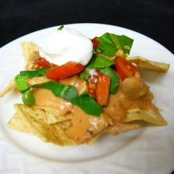 Leftover Turkey Nachos Recipe