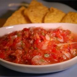 Garden Tomato Salsa Recipe