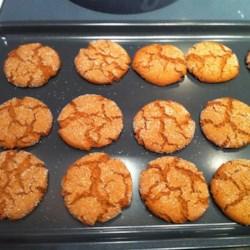 Amazing Ginger Snaps Recipe