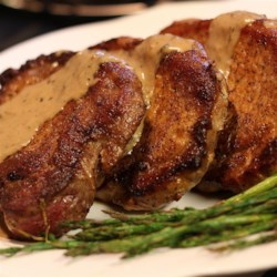 Creamy Herbed Pork Chops Recipe