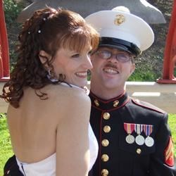 Favorite pic of me and my Marine