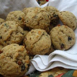 Applesauce Raisin Cookies II