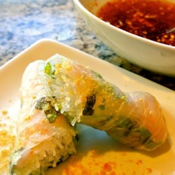 Vietnamese Spring Rolls With Dipping Sauce Recipe