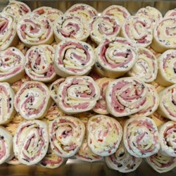 Muffuletta Pinwheels Recipe